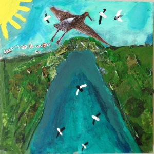 Artwork from the Daniel DiTondo Foundation summer Art/River camp in 2014.